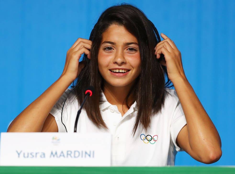 Mardini is set to be one of the star attractions at the Games