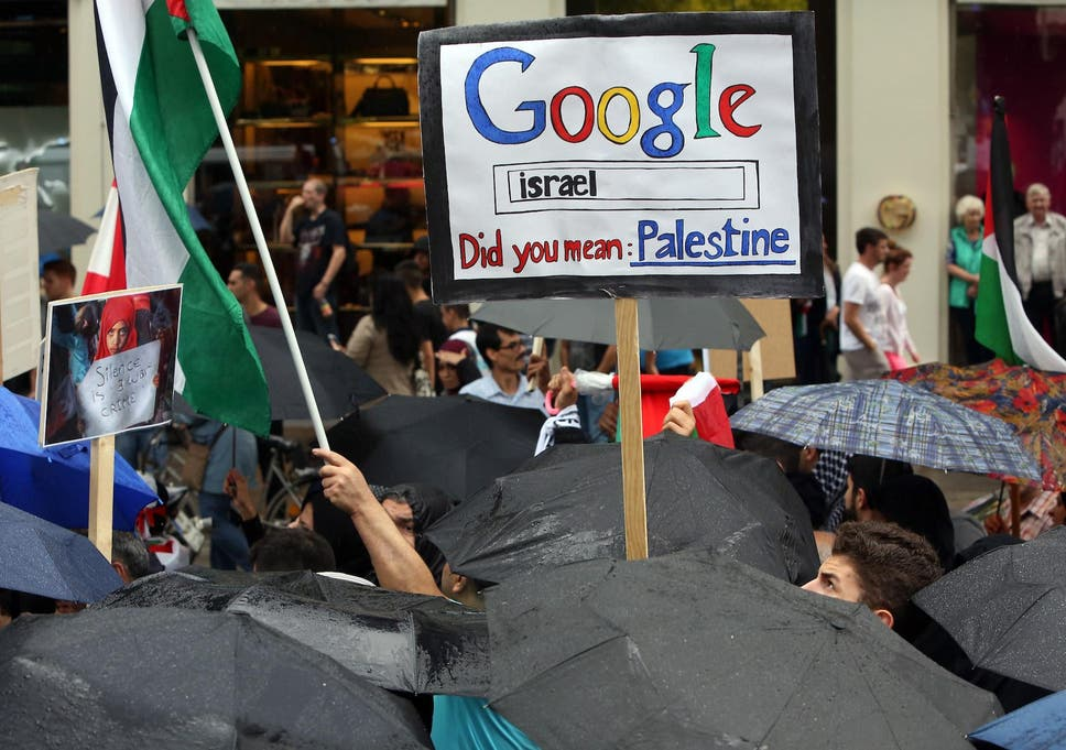 Google Maps \'removes Palestine\', says petition – but the truth is ...