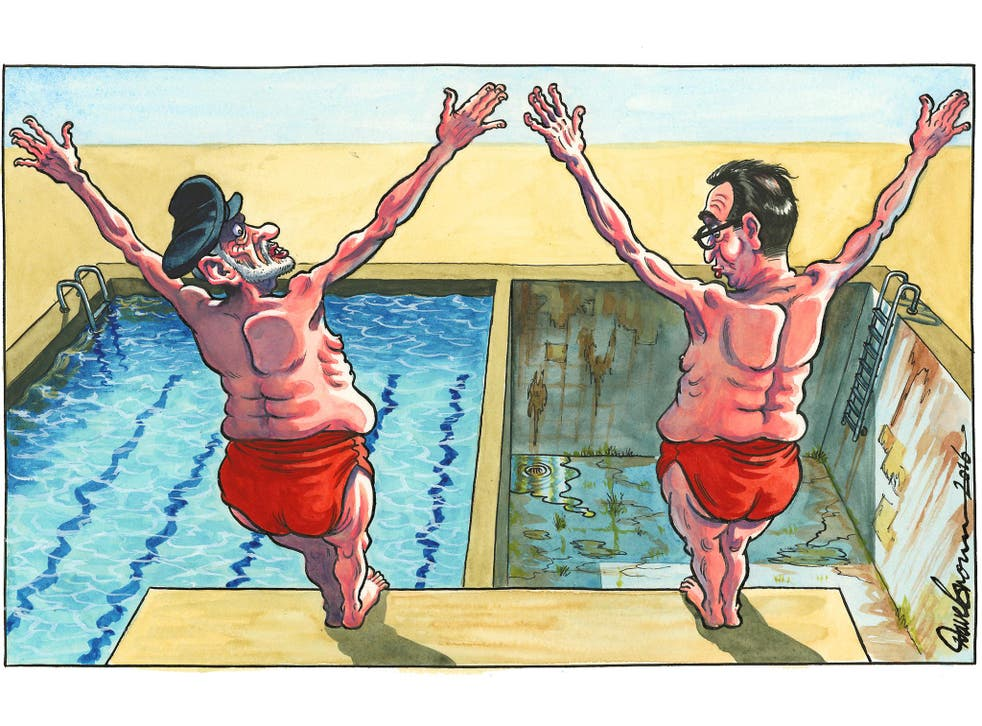 Dave Brown's cartoon – for more of his work follow the link below
