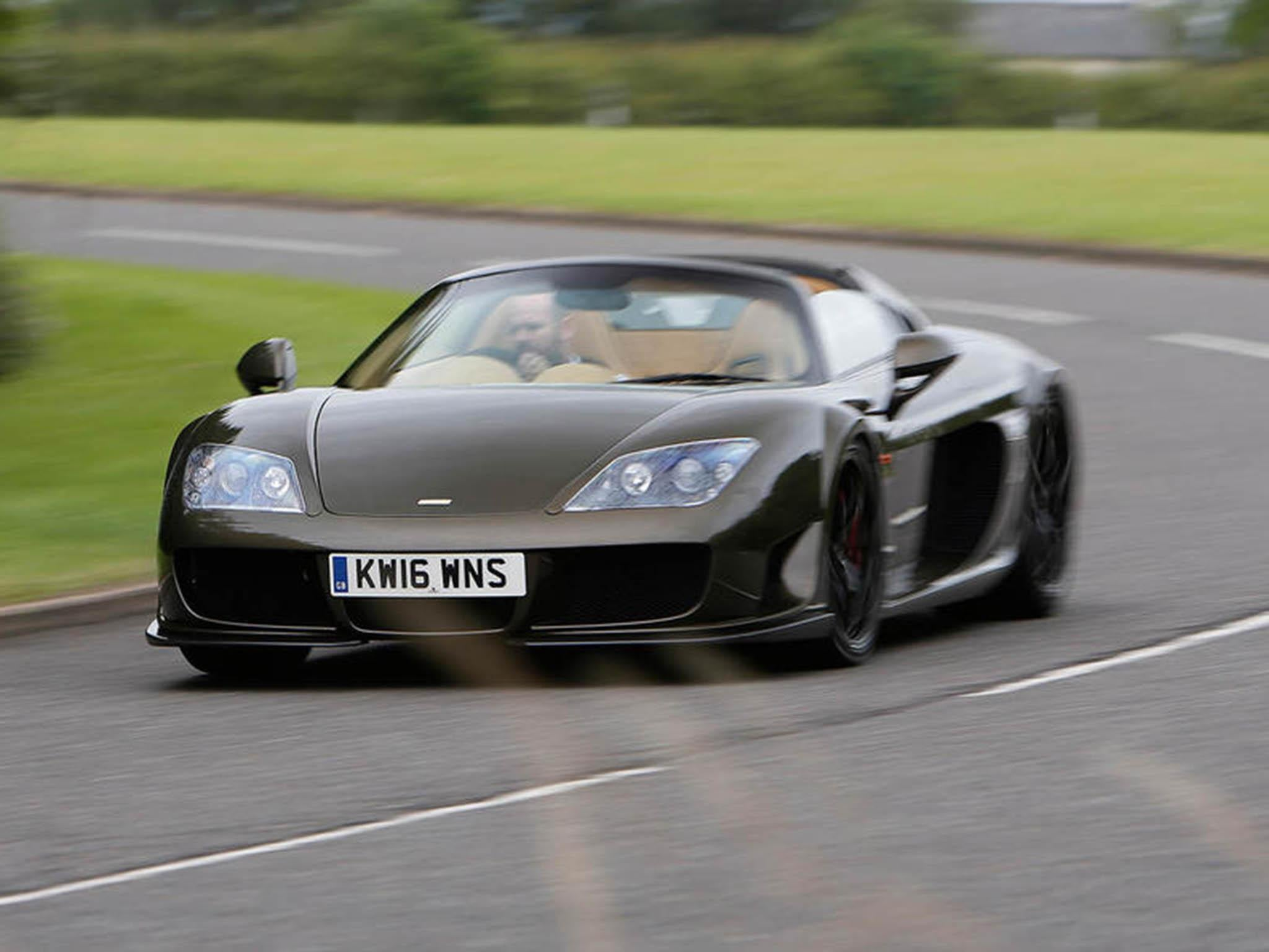 Noble M600 Speedster Car Review Despite The Clip On Roof The
