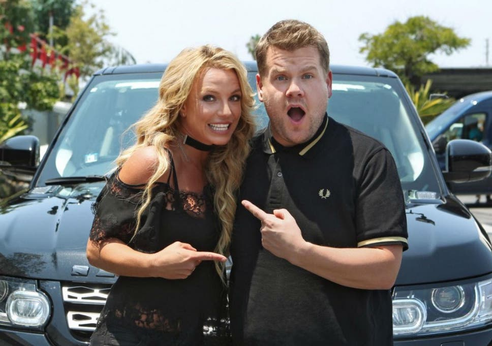 Britney Spears Confirmed For Carpool Karaoke With James Corden The