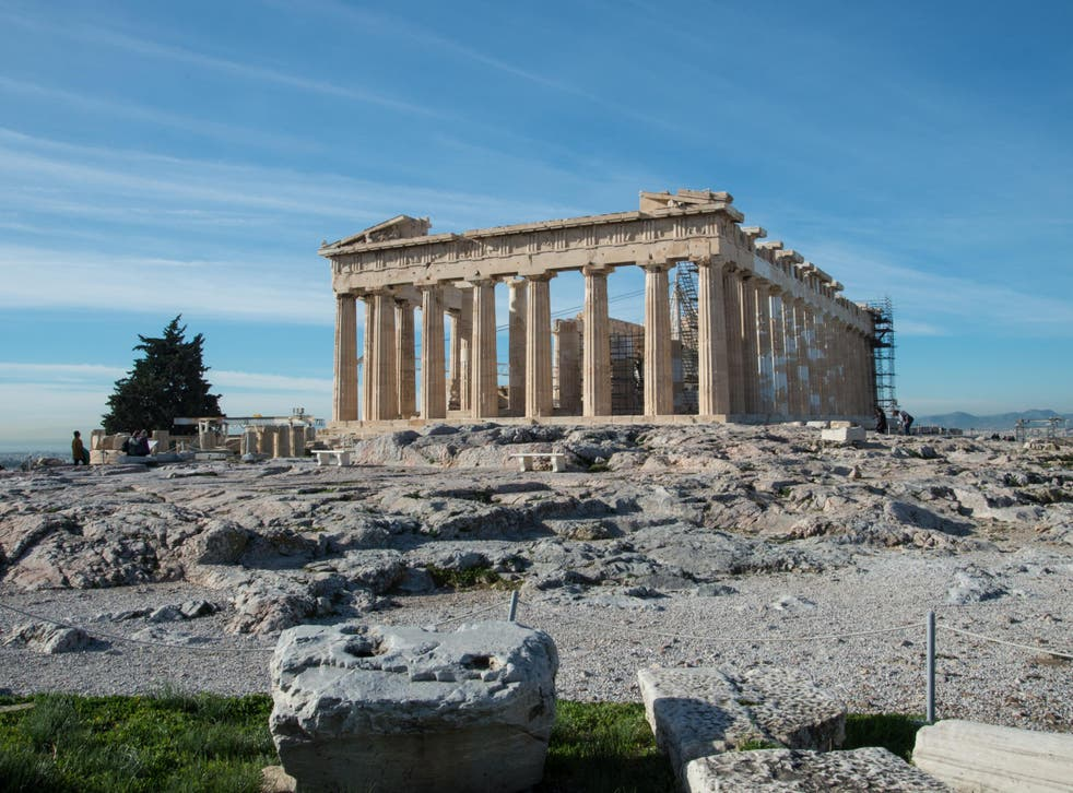 The Parthenon has been the crowning glory of Athens' Acropolis since 447BC