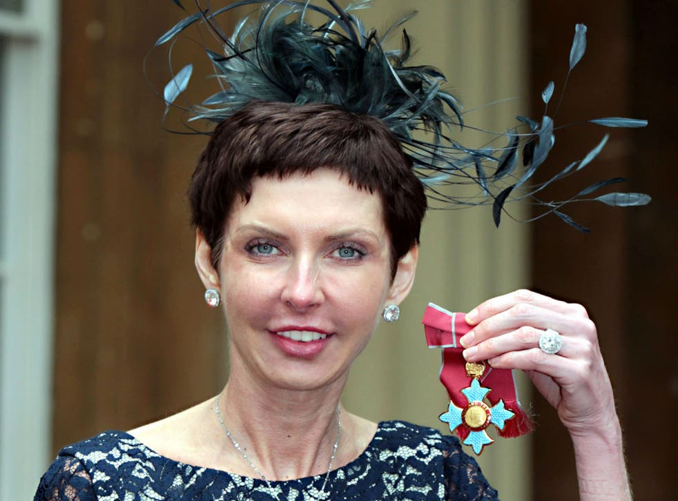 Coates, 48, was awarded a CBE in 2012 for services to the community and business. 'Forbes' magazine estimates her net worth at $4.6bn (£3.6bn)