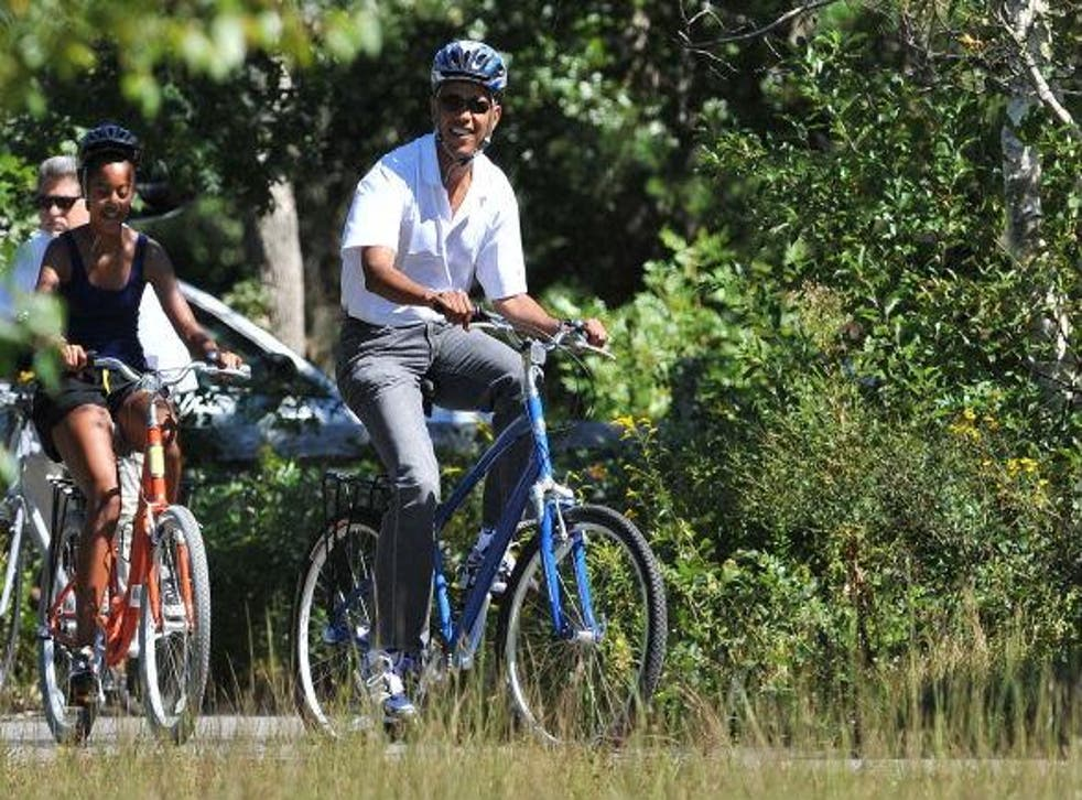 President Barack Obama is enjoying his final presidential summer holiday. Like many of his predecessors, he is partial to a round of golf