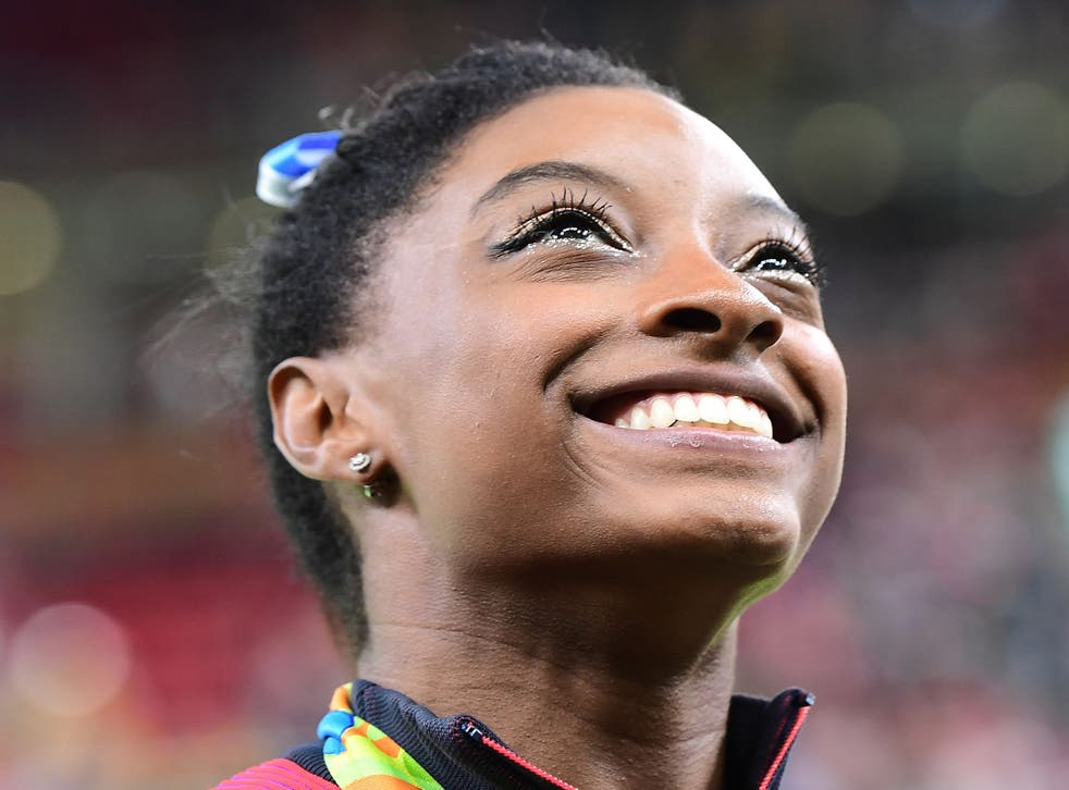 Biles produced a brilliant display to take her second gold of the Games