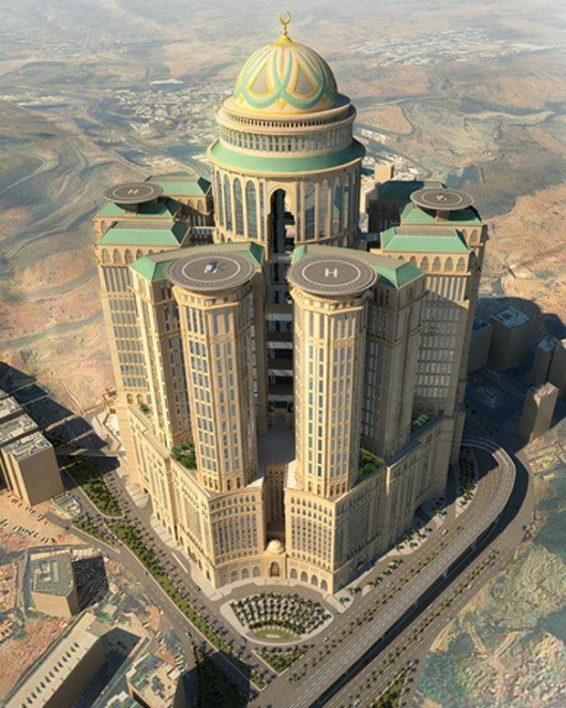 world s largest hotel to open in mecca the independent