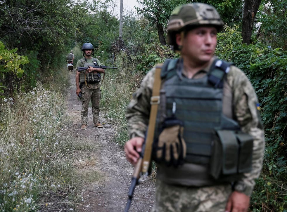 British forces have been training Ukrainian troops since 2015