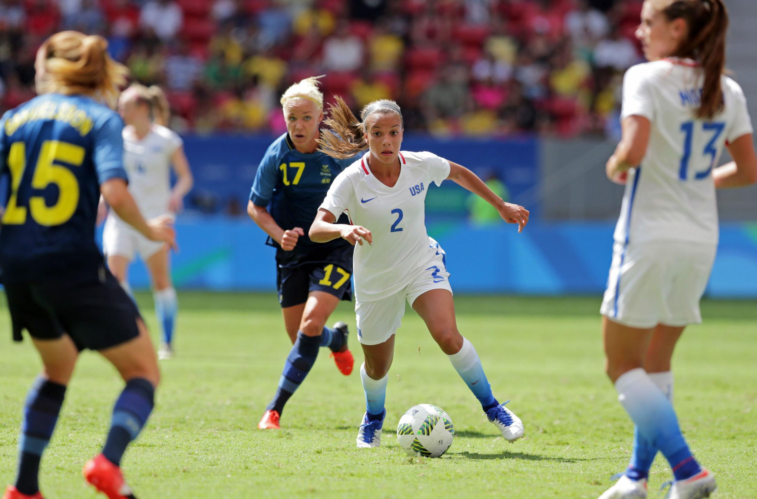 Rio 2016 Mallory Pughs Career Kicks Off To Great Start