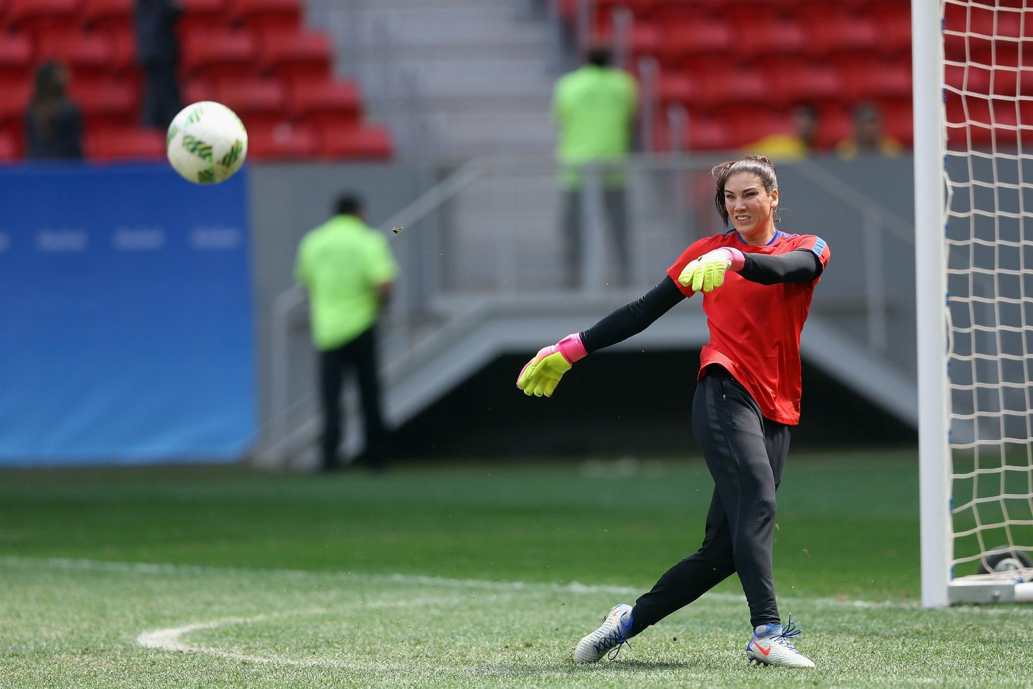 Rio 2016: Hope Solo brands Swedish women's soccer team 'a bunch of cowards'