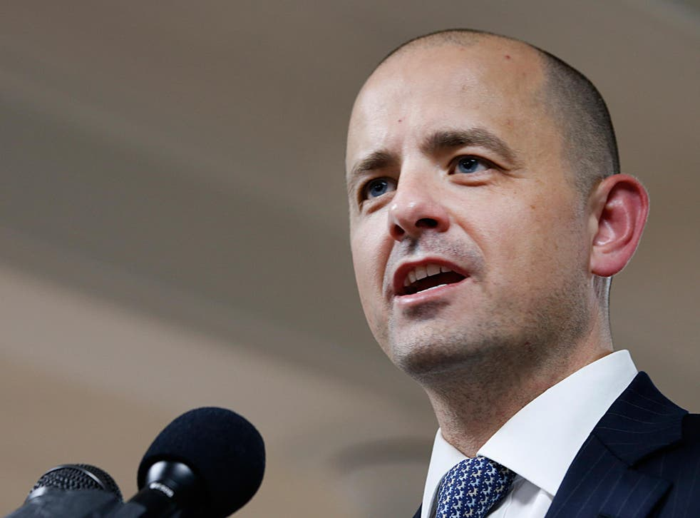A former Republican, Evan McMullin ran for president in protest at Donald Trump's candidacy
