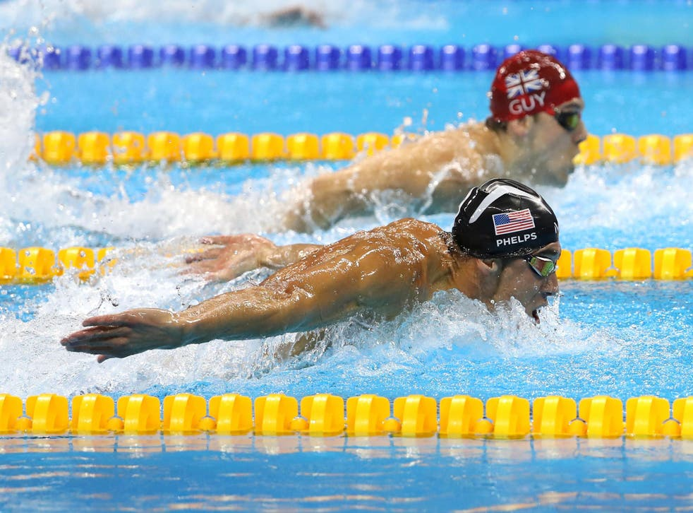 Phelps in action for USA