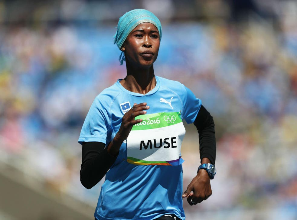 Maryam Nuh Muse competes in Rio