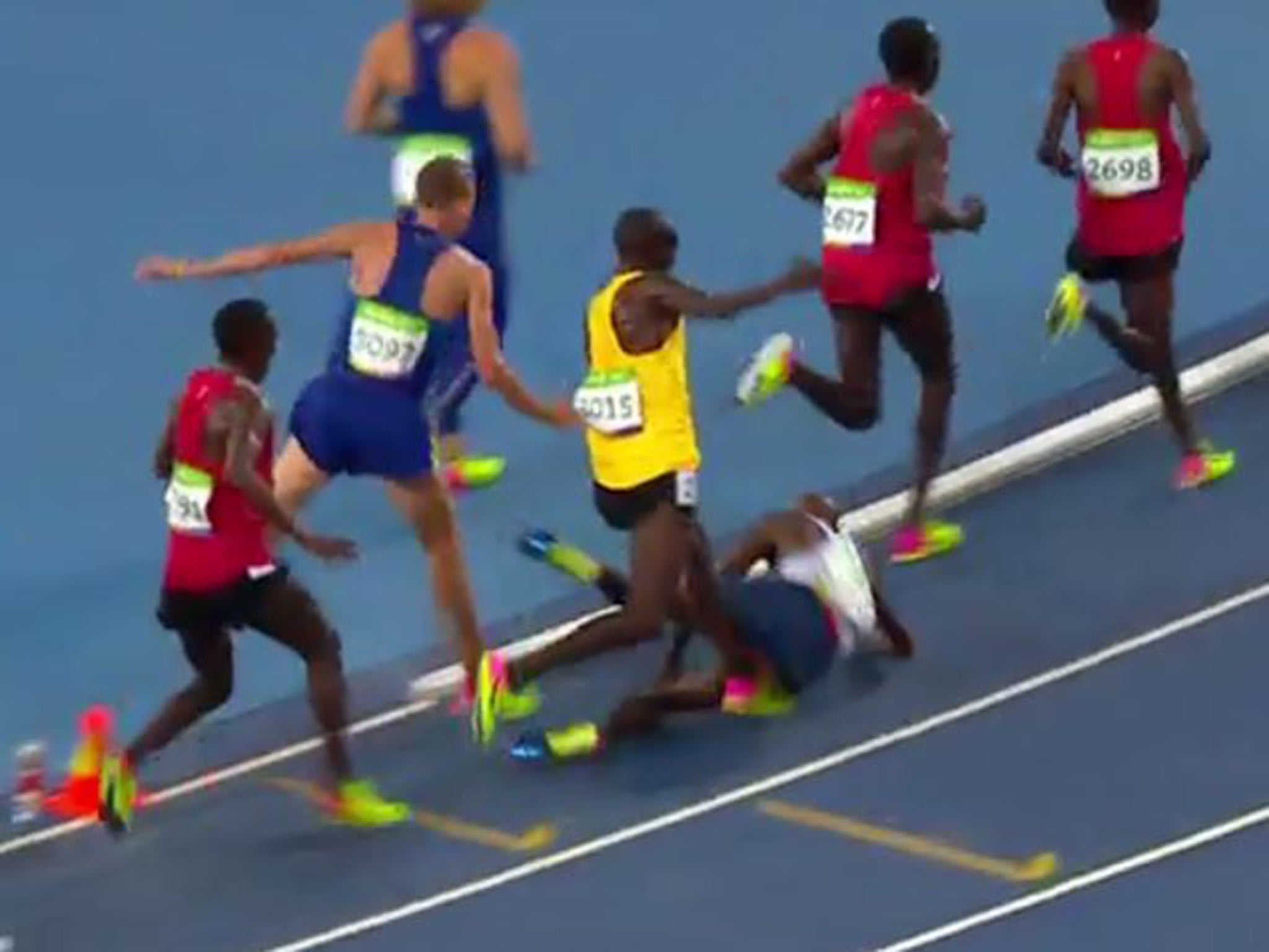 Rio 2016: The moment Mo Farah thought his Olympic dream was over