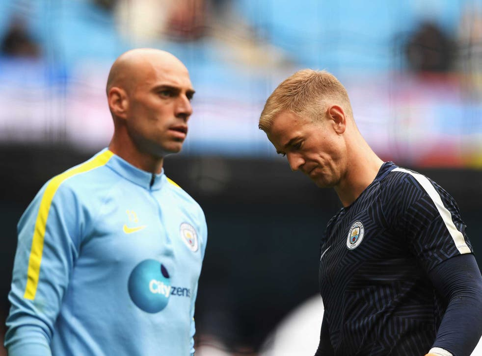 Joe Hart may have to leave Manchester City if he remains on the bench