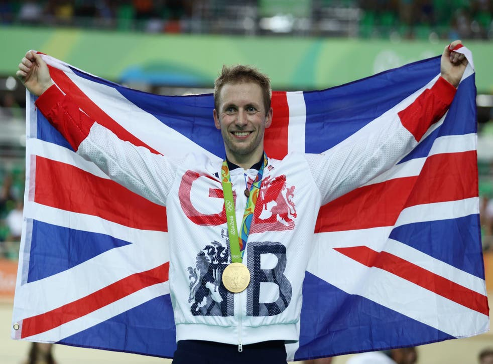Jason Kenny in action for Team GB