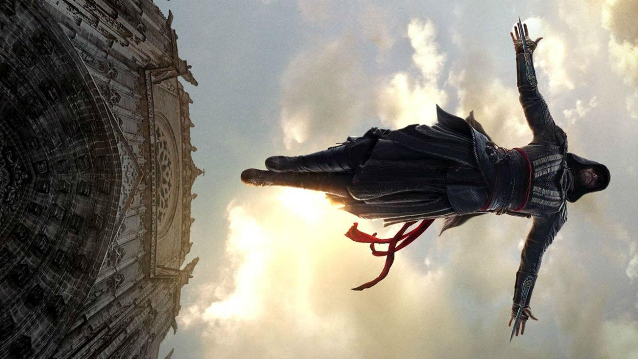 Assassin S Creed Watch Stuntman Make 125 Feet Leap Of Faith