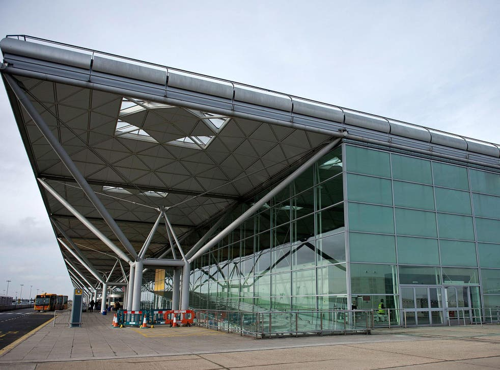 Stansted is one of the airports where £1 now buys less than €1