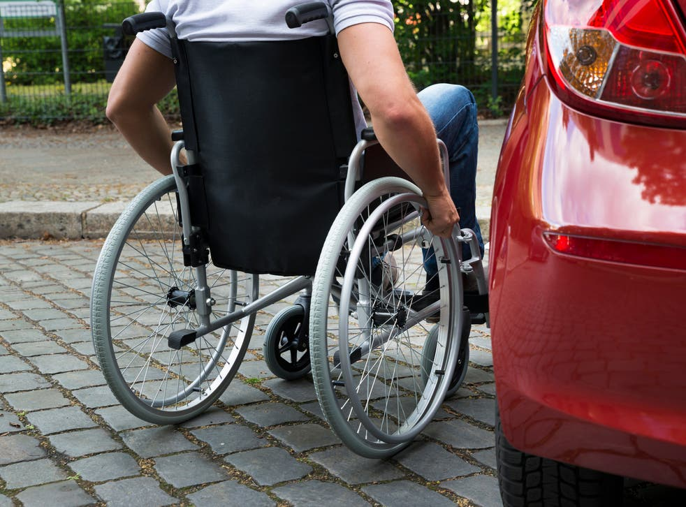 To qualify for a vehicle, a person must now not be able to walk for 20 metres