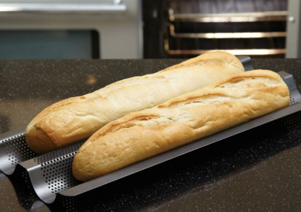 a6d9461494f Beginners to bread making should invest in a good-quality baking stone and  loaf tin