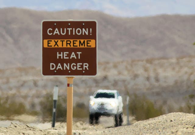 California's Death Valley has the highest recorded temperature