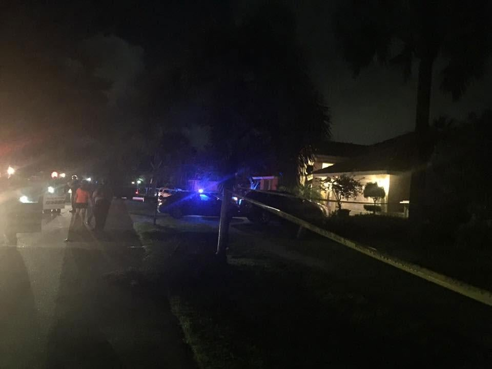 Florida police find man 'biting victim in the face' at