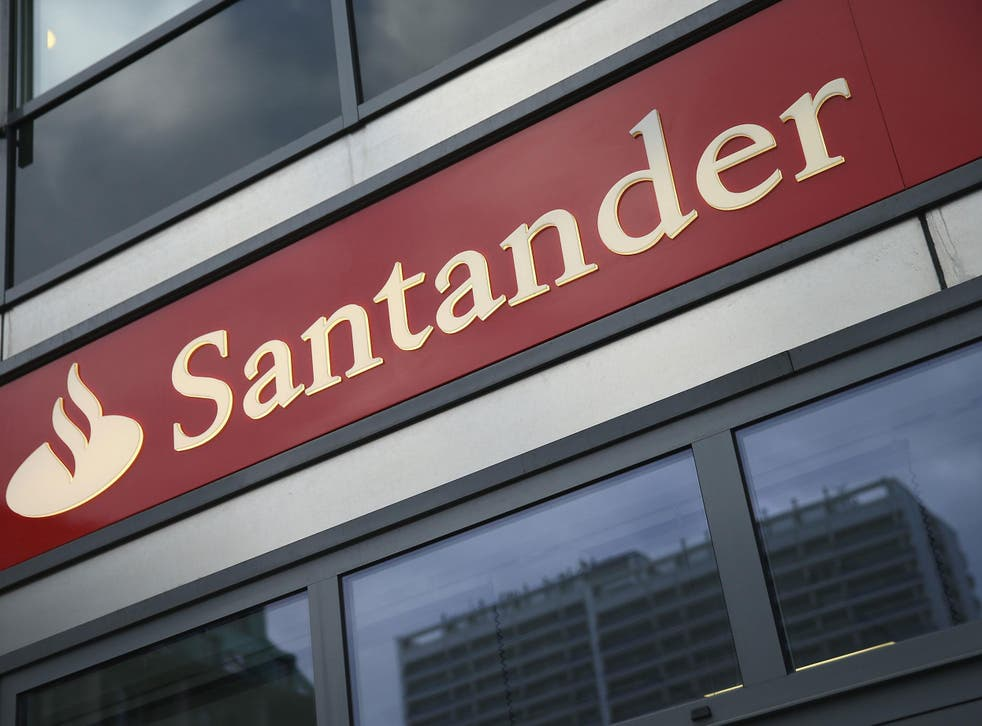 Santander scored five for its sign-up incentives and four on customer service