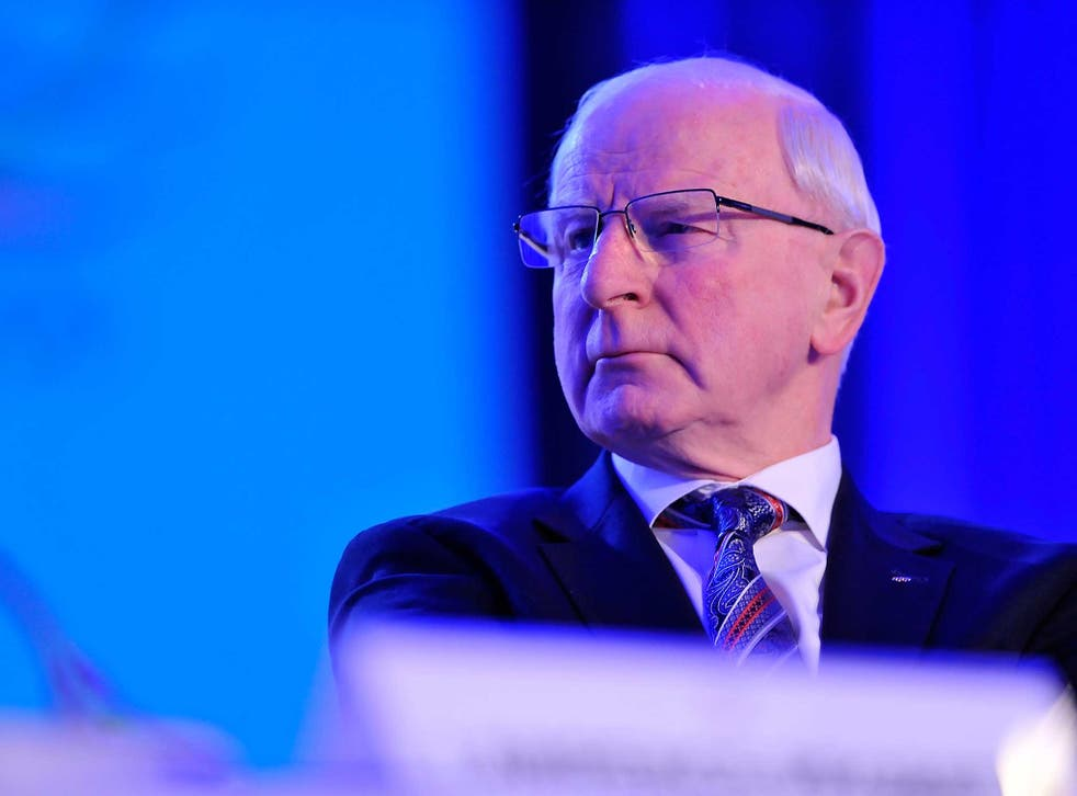 Patrick Hickey is one of Europe's most senior Olympic officials