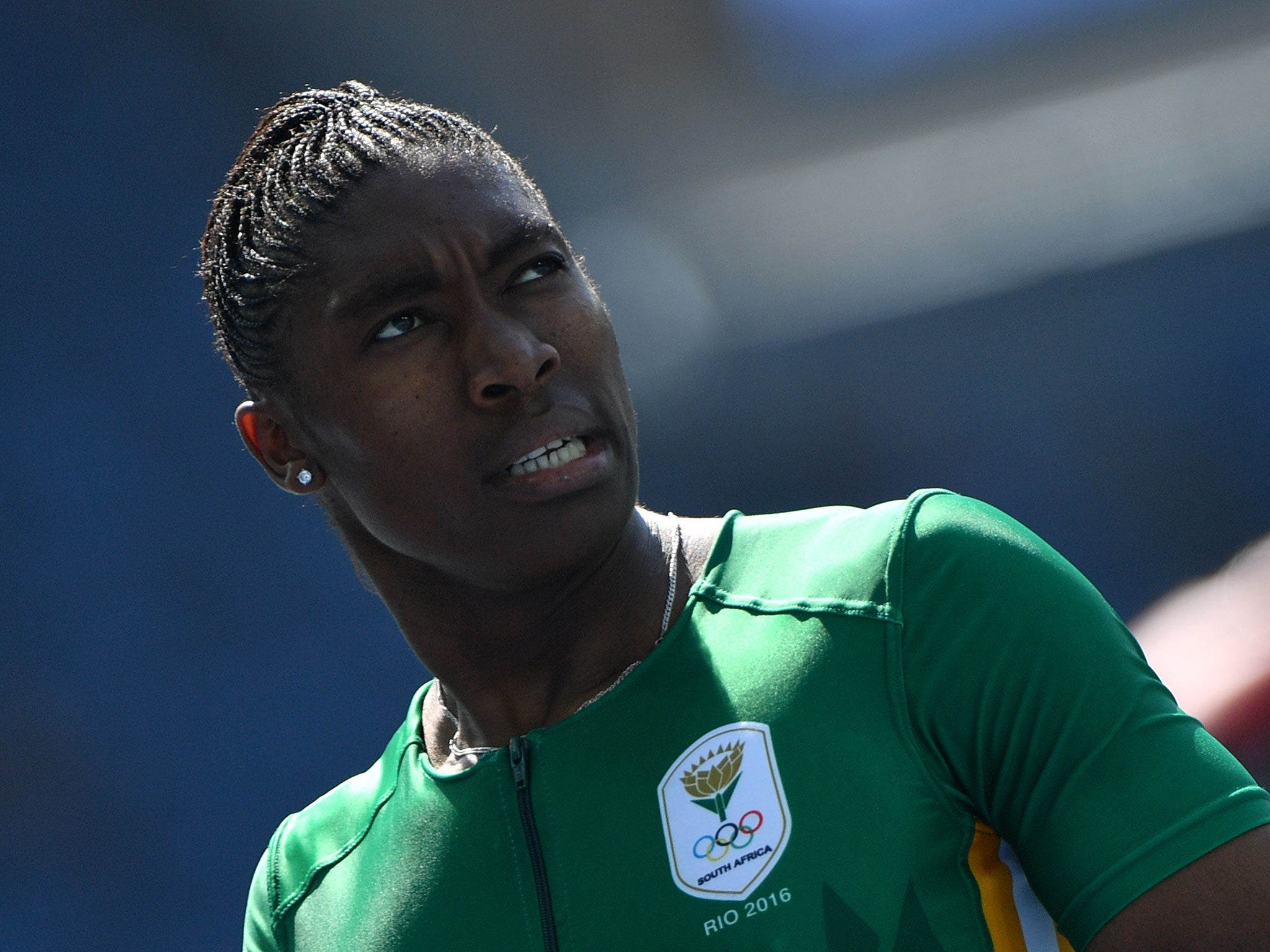Rio 2016 Caster Semenya Wins And Hides While Sport S Deliberations Go On The Independent