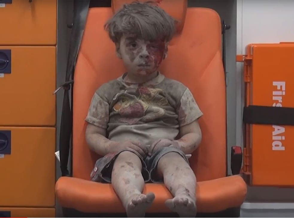 This image of the five-year-old Syrian boy shocked the world