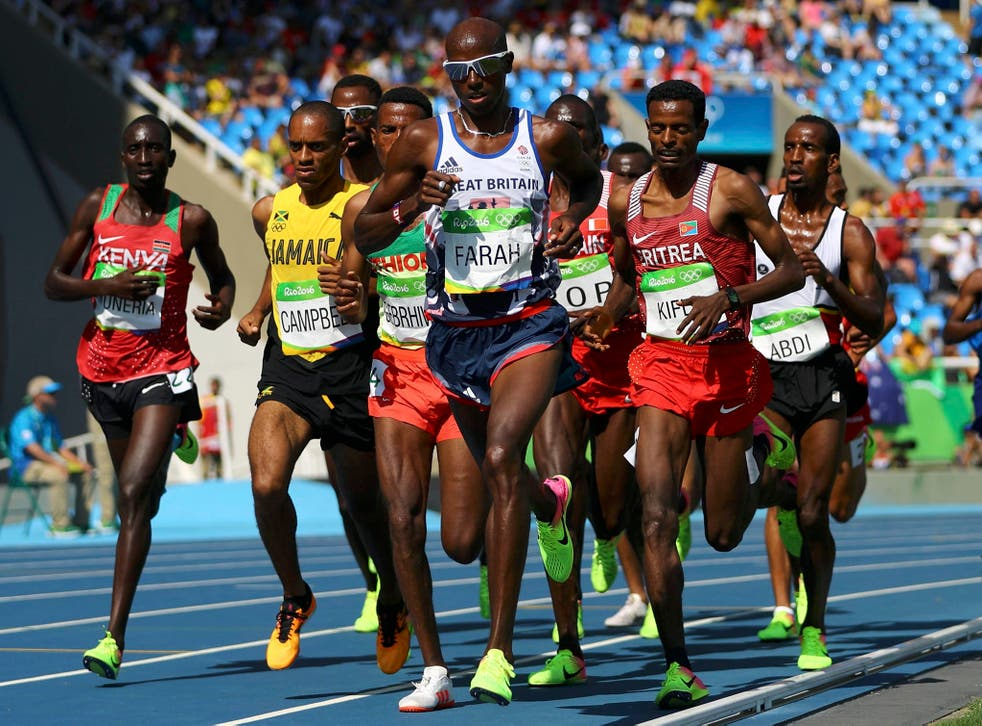 Mo Farah was born on 23 March 1983 and has so far won three Olympic golds
