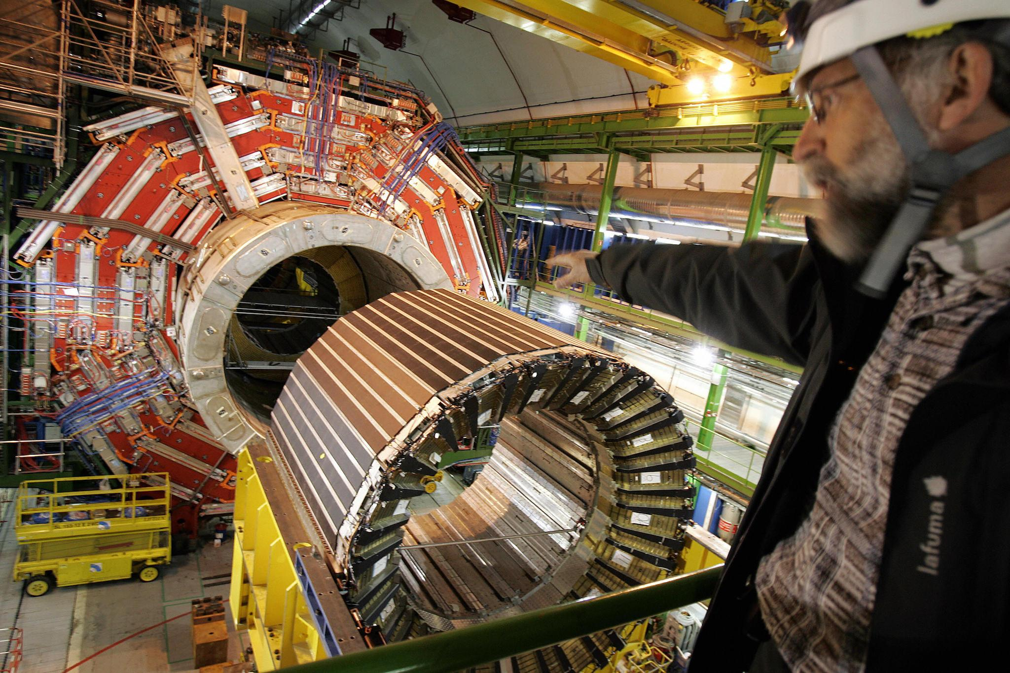 'Human sacrifice' staged at Cern, home of the God Particle