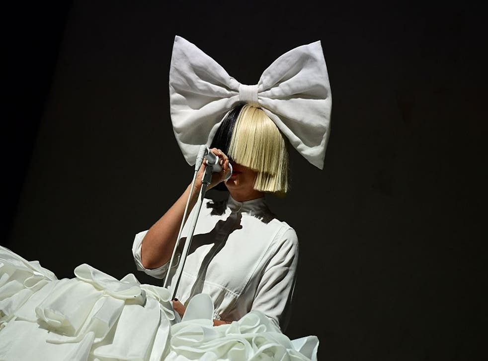"""Sia performs on the main stage at the """"Sziget"""" Island Festival in the Hajogyar (Shipyard) Island of Budapest on August 15, 2016."""