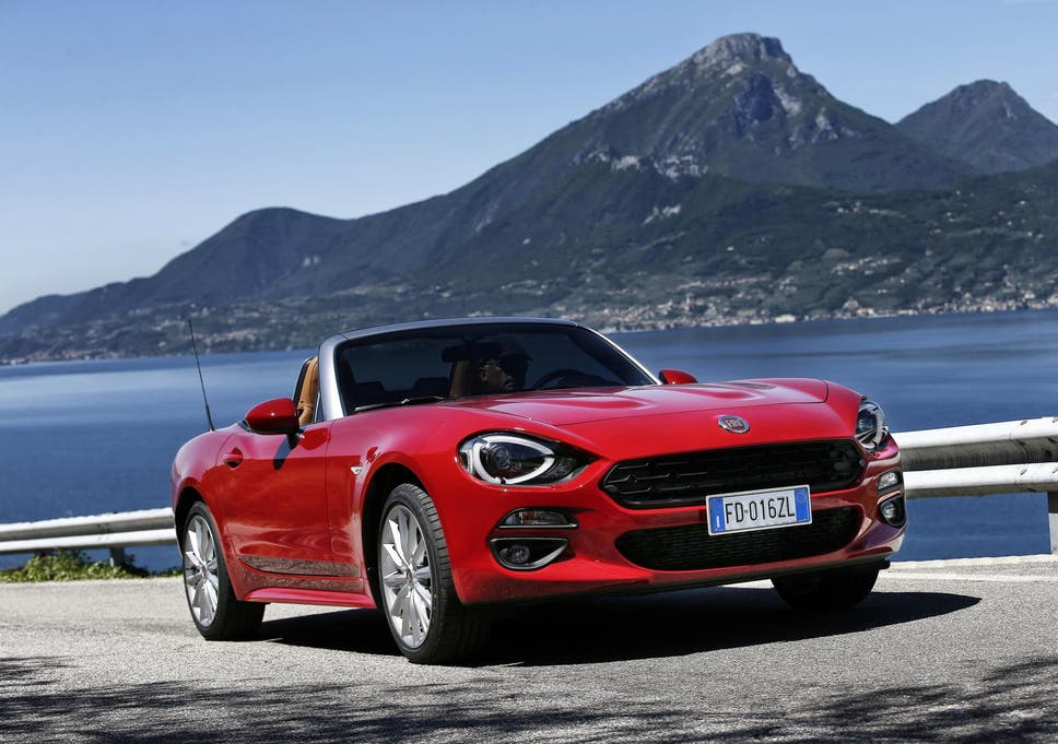 Fiat 124 Spider; A slightly confused beast