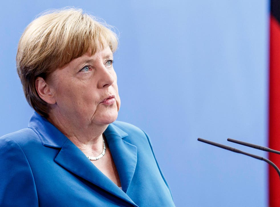 German Chancellor Angela: 'Now we must negotiate on the basis of our interests'