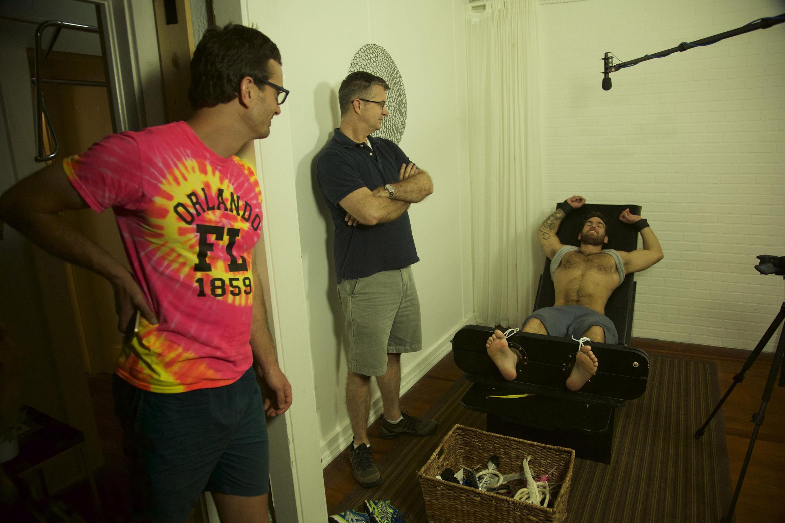 Tickled interview The competitive tickling doc that led David – The Tickle Chair