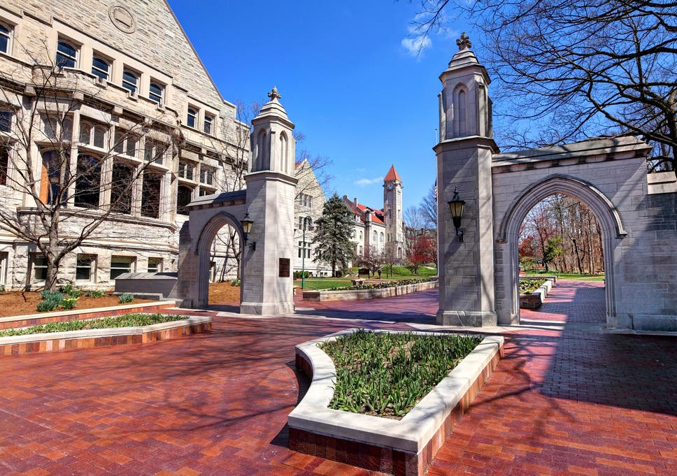 indiana university gunman feared to be on the loose near