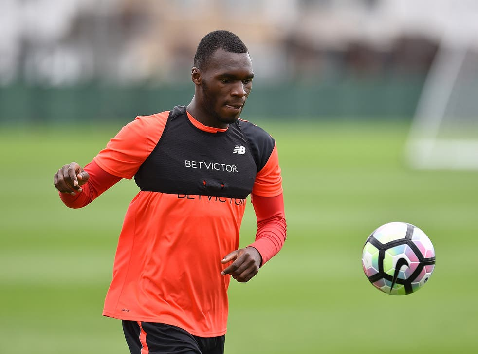 Christian Benteke is having a medical ahead of his £32m move to Crystal Palace