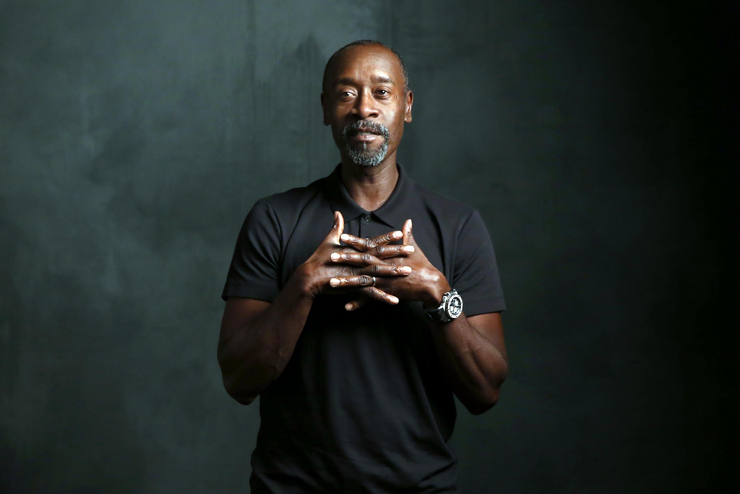 Don Cheadle accuses Donald Trump of extraordinary 'racist, misogynistic' golf course slur