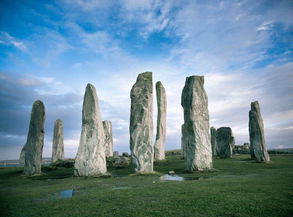 The ancient Callanish Stones on Scotland's Isle of Lewis were constructed with astrological phenomena in mind