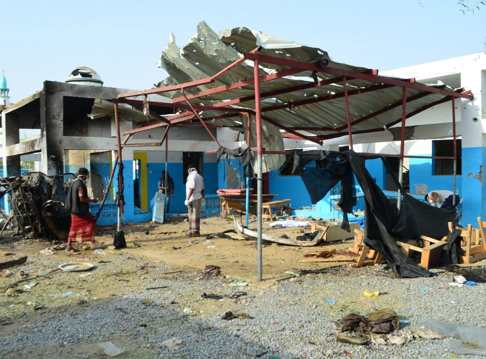 Medicins Sans Frontieres are withdrawing from northern Yemen after their hospitals were repeatedly hit by air strikes