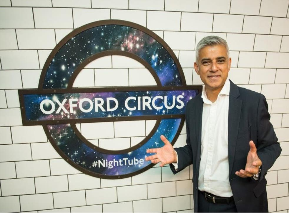 London Mayor Sadiq Khan, who opened the Night Tube earlier this weekend, has placed himself as a future contender for Labour leadrship