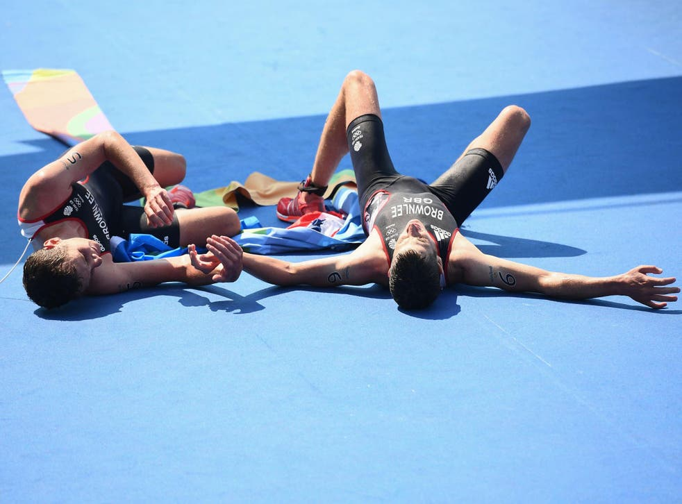 The Brownlee brothers provided one of Team GB's most memorable moments in the men's triathlon
