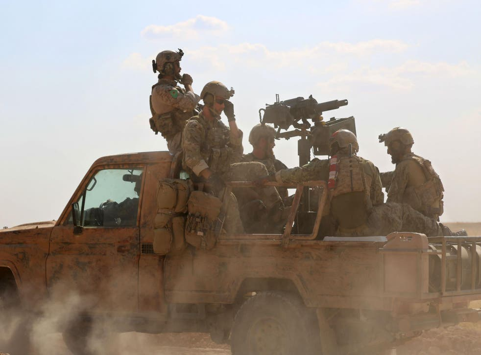 Images of US special forces operating in Syria were published earlier this year