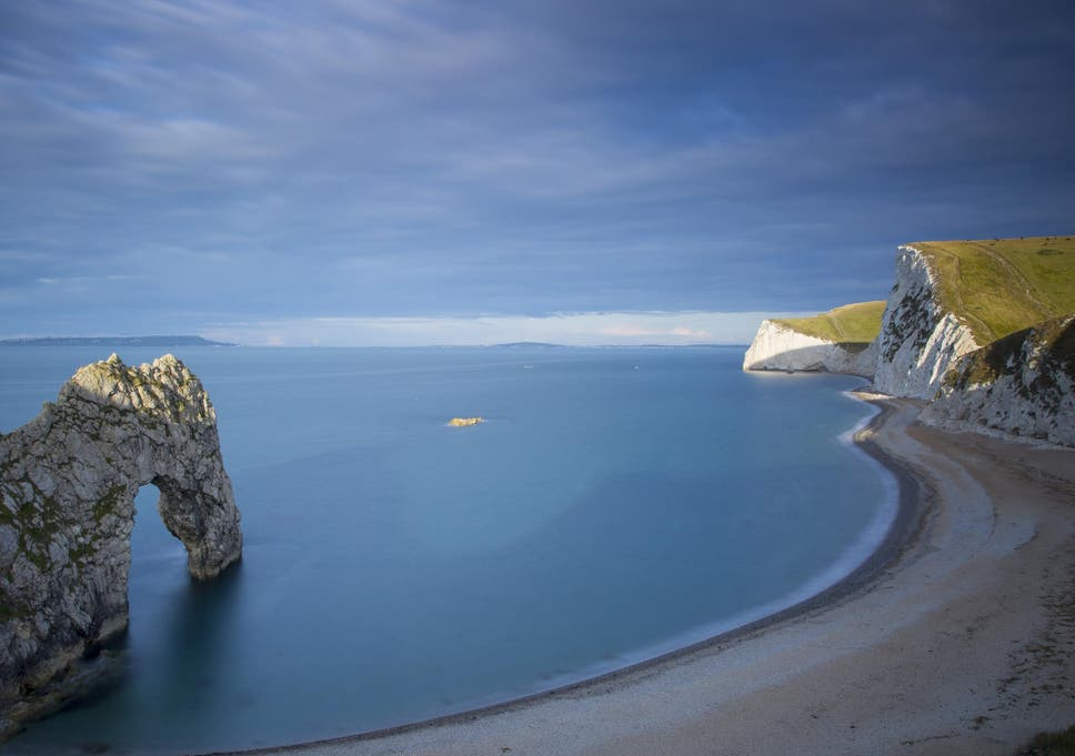 jurassic coast beaches face closure if visitors fail to use common