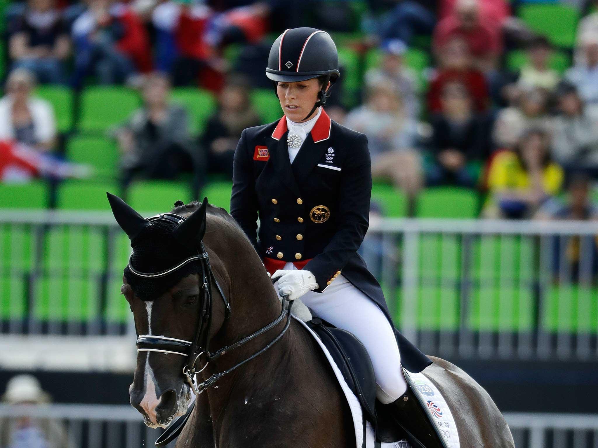 Charlotte Dujardin rides Valegro to victory