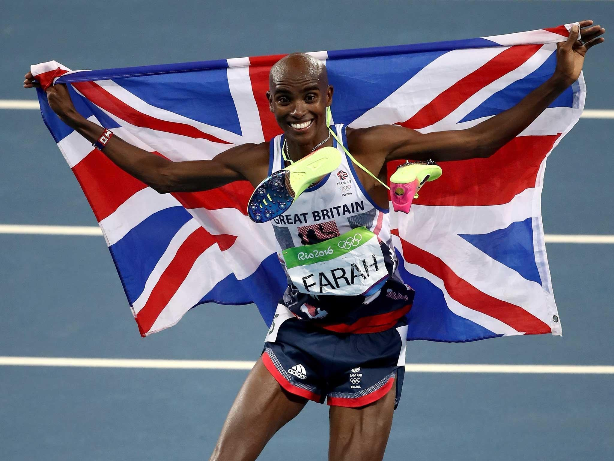 Mo's double gold for GB