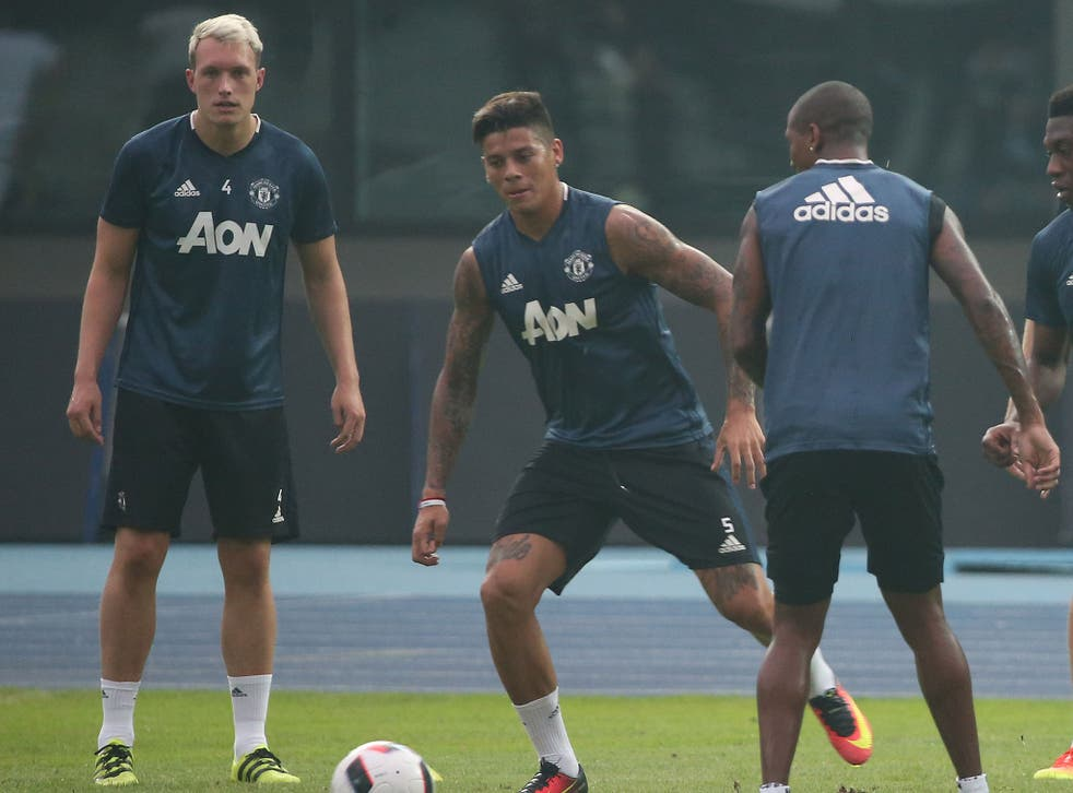 Phil Jones and Marcus Rojo face uncertain futures at Manchester United