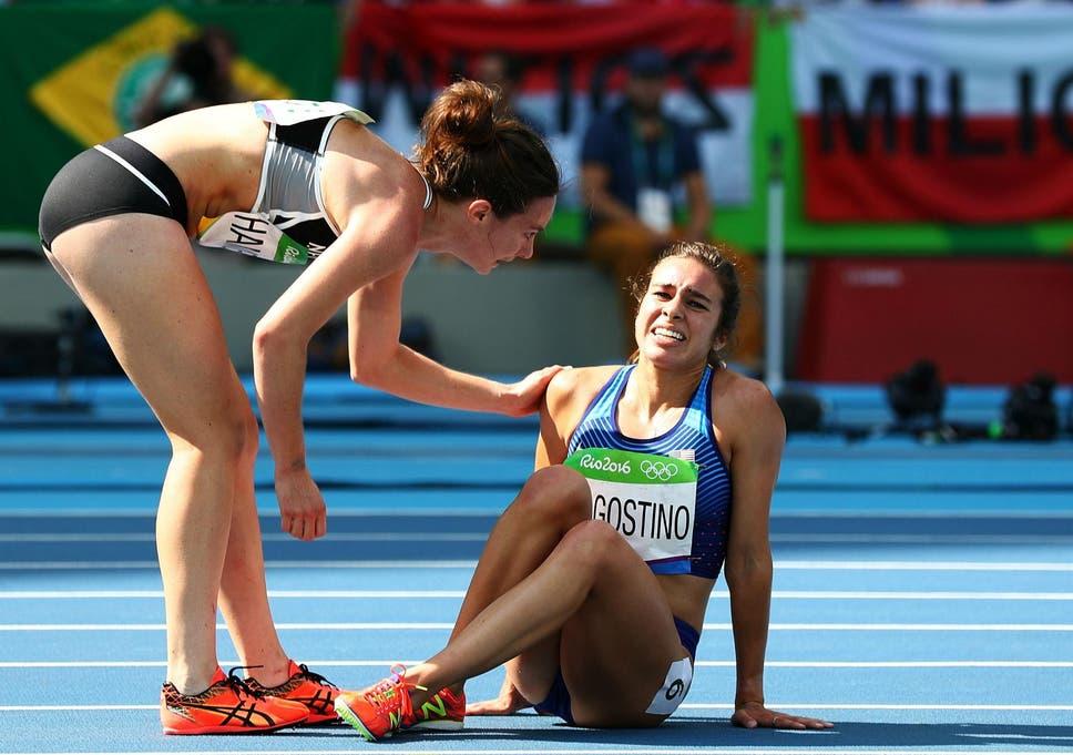 Rio 2016: Nikki Hamblin and Abbey D'Agostino given 'fair play ...