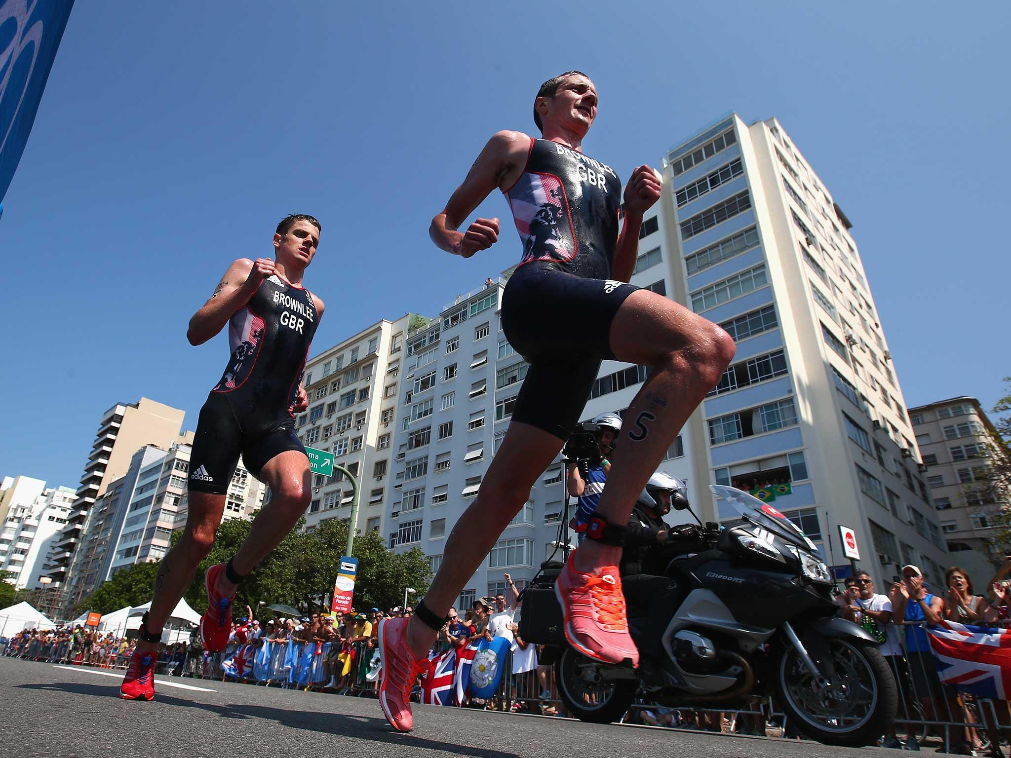 Triathlete brothers take first and second place