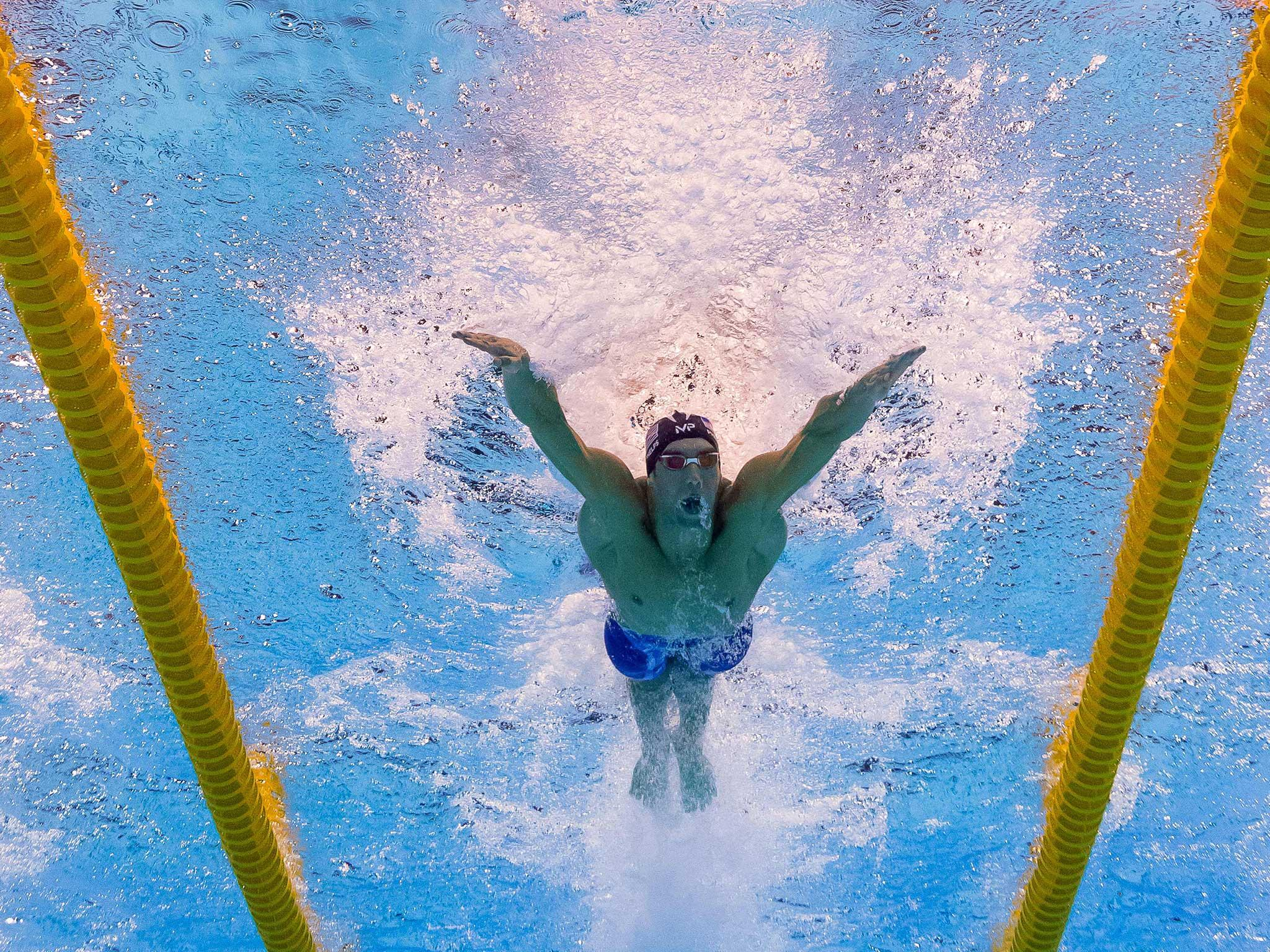 Phelps takes home his fifth gold medal from Rio